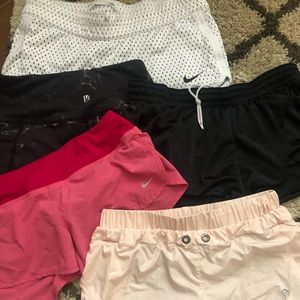 3 pairs of shorts size Small